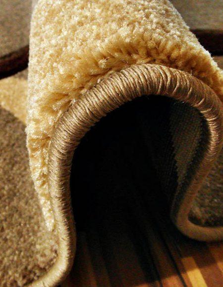 Dywan Fryz 3D wzór Błonka Camel