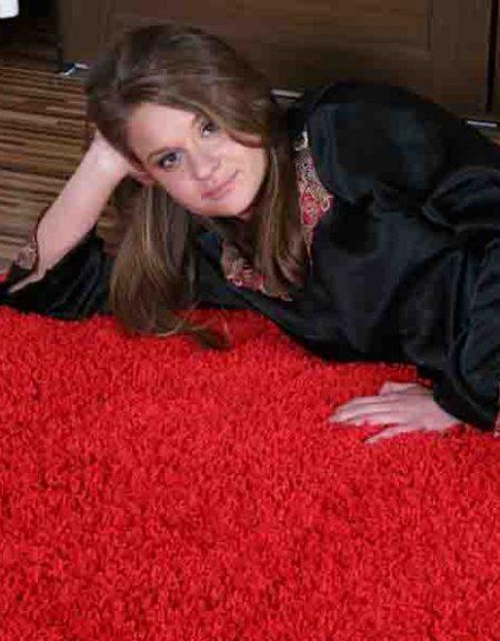 Dywan Shaggy Royal czerwony