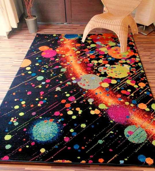 Dywan magic wzór galaktyka