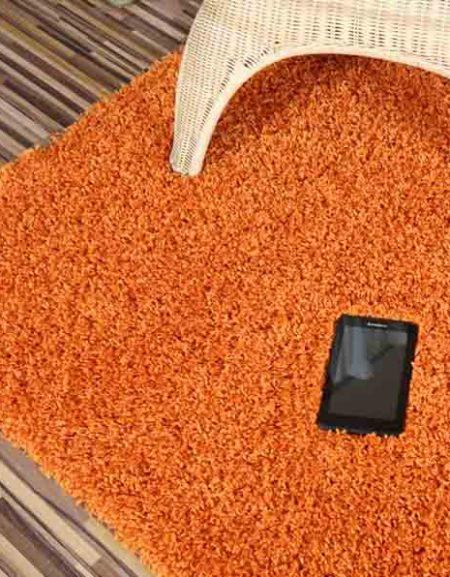 Dywan Shaggy Royal pomarańczowy
