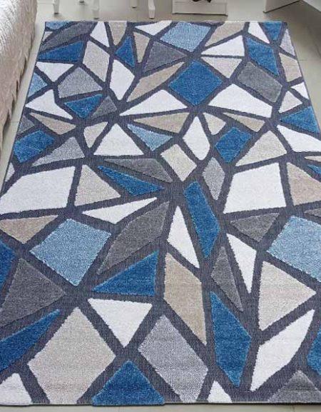Dywan sznurek fryz Siena 76 antrahcite blue